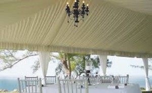tent roof liners.