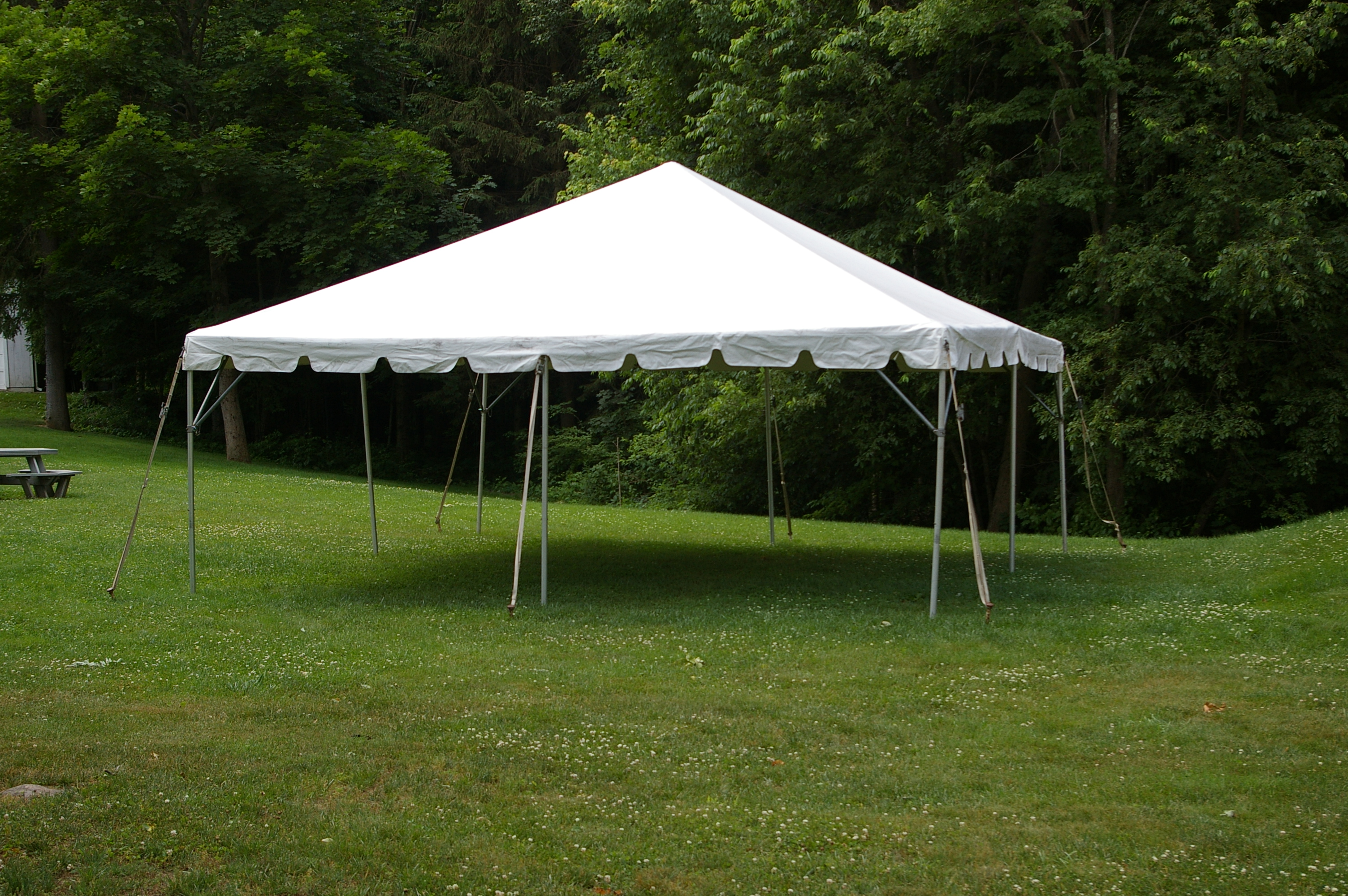 Frame Tent 20 By 20 A To Z Party Rental