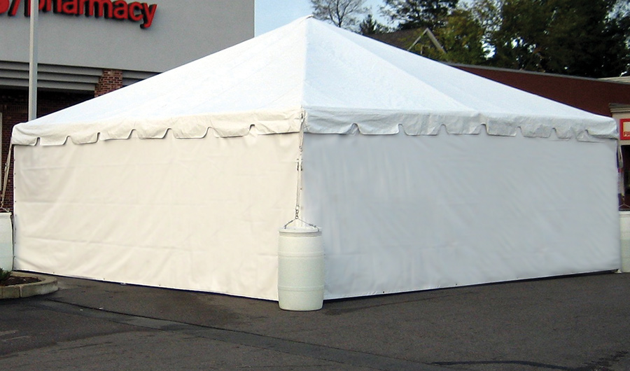 Solid Tent Side Wall A To Z Party Rental